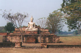Photo of Buddha in Ruins