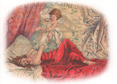 """Venus Chained"" Cigar Box Illustration (39023 bytes)"